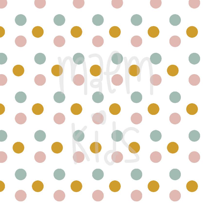 3 farebne bodky autorská látka